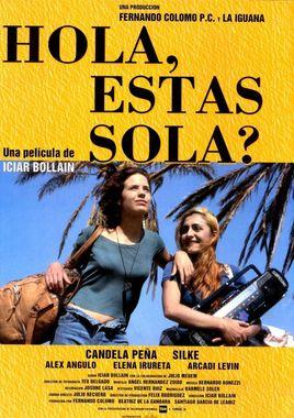 Cartel oficial en español de: Hola, ¿Estás sola?