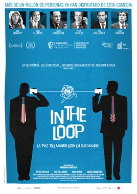 Cartel oficial en español de: In the Loop