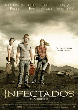 Cartel oficial en español de: Infectados (Carriers)