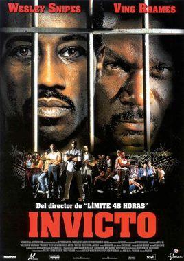 Cartel oficial en español de: Invicto