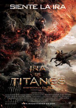 Cartel oficial en español de: Ira de Titanes 3D