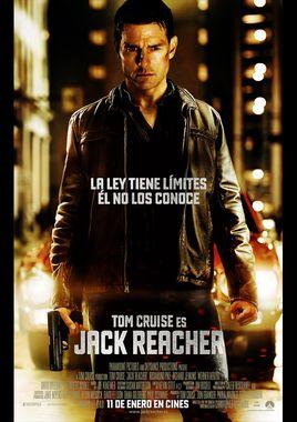 Cartel oficial en español de: Jack Reacher