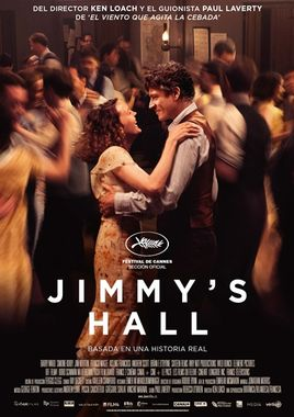 Cartel oficial en español de: Jimmy's Hall