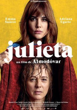 Cartel oficial en español de: Julieta