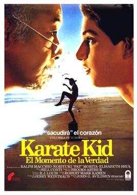Cartel oficial en español de: Karate Kid (El momento de la verdad)
