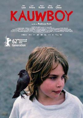 Cartel oficial en español de: Kauwboy
