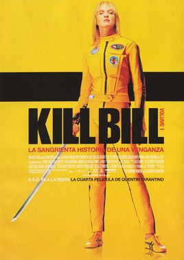 Cartel oficial en español de: Kill Bill: Volume 1