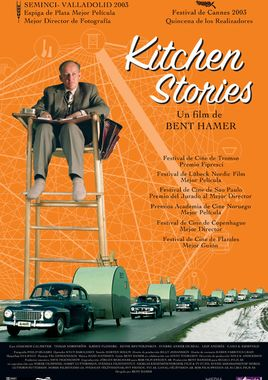 Cartel oficial en español de: Kitchen stories