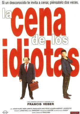 Cartel oficial en español de: La cena de los idiotas