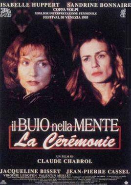 "Cartel ""La ceremonia"" italiano"