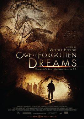 Cartel oficial en español de: La cueva de los sueños olvidados