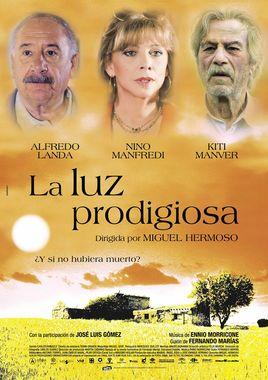 Cartel oficial en español de: La luz prodigiosa