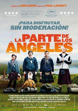 Cartel oficial en español de: La parte de los ángeles