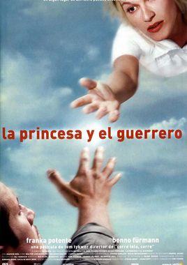 Cartel oficial en español de: La princesa y el guerrero