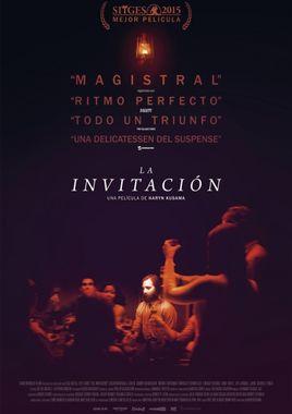 Cartel oficial en español de: La invitación