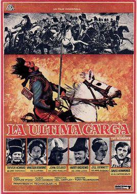Cartel oficial en español de: La última carga (1968)