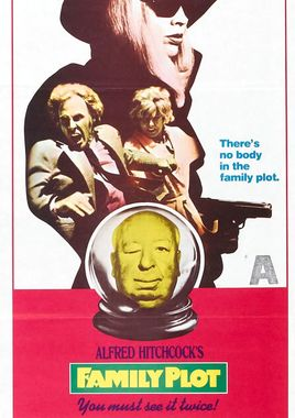 "Cartel ""La trama (1976)"" australiano"
