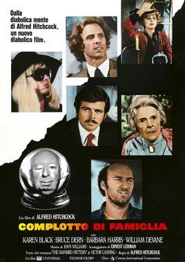 """Cartel """"La trama (1976)"""" italiano"""