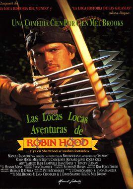 Cartel oficial en español de: Las locas, locas aventuras de Robin Hood