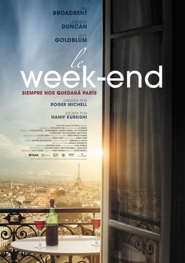 Cartel oficial en español de: Le Week-End