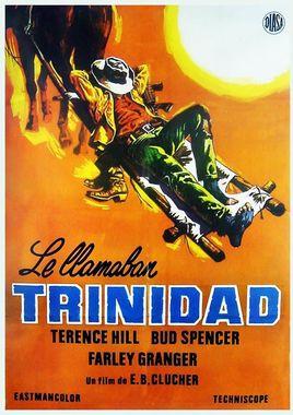 Cartel oficial en español de: Le llamaban Trinidad