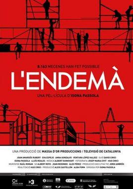 Cartel oficial en español de: L'endemà