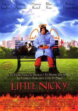 Cartel oficial en español de: Little Nicky