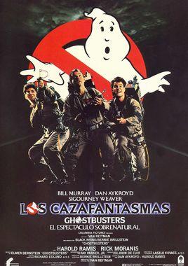 Cartel oficial en español de: Los cazafantasmas