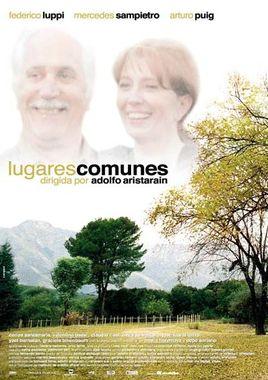 Cartel oficial en español de: Lugares comunes