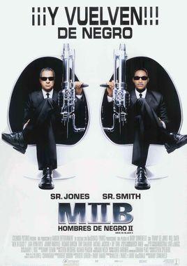 Cartel oficial en español de: MIIB: Hombres de negro II