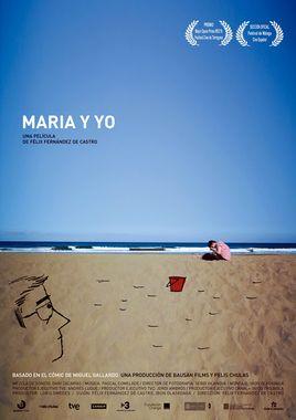 Cartel oficial en español de: María y yo