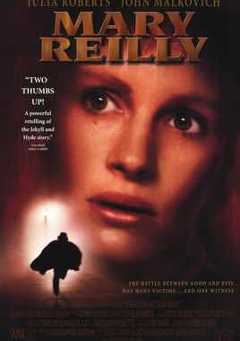 "Cartel ""Mary Reilly"" norteamericano DVD"
