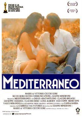 Cartel oficial en español de: Mediterráneo