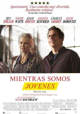 Cartel oficial en español de: Mientras seamos jóvenes