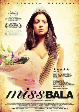 Cartel oficial en español de: Miss Bala