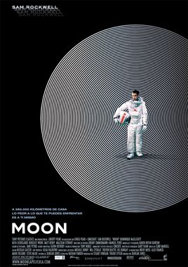 Cartel oficial en español de: Moon