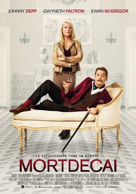 Cartel oficial en español de: Mortdecai