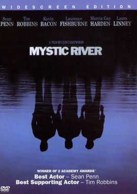"Cartel ""Mystic River"" DVD norteamericano"