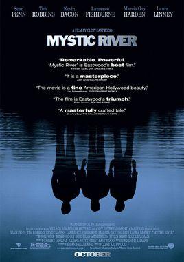 """Cartel """"Mystic River"""" norteamericano"""