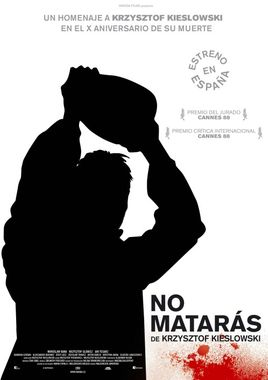 Cartel oficial en español de: No matarás