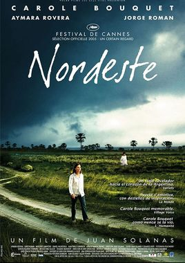 Cartel oficial en español de: Nordeste