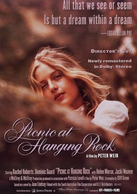 "Cartel ""Picnic en Hanging Rock"" australiano"