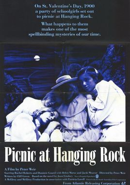 "Cartel ""Picnic en Hanging Rock"" australiano 2"
