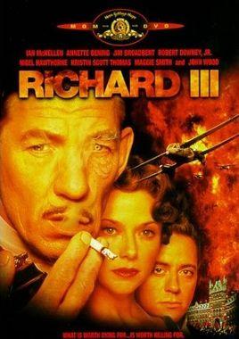 "Cartel ""Ricardo III"" alemán DVD"