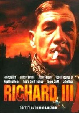 """Cartel """"Ricardo III"""" norteamericano 2"""