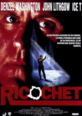 Cartel oficial en español de: Ricochet