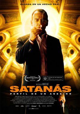 Cartel oficial en español de: Satanás (Perfil de un asesino)