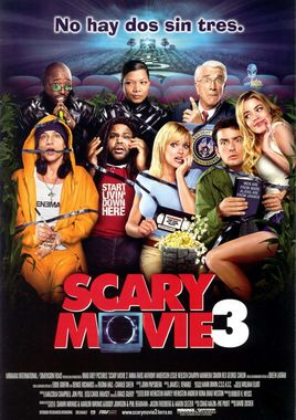 Cartel oficial en español de: Scary Movie 3
