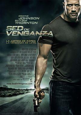 Cartel oficial en español de: Sed de venganza (Faster)