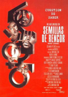 Cartel oficial en español de: Semillas de rencor